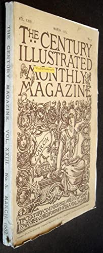 Century Illustrated Monthly Magazine - March 1882: Frances Hodgson Burnett