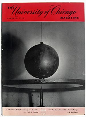 University of Chicago Magazine - January 1952: Contains Shasta Publishers article