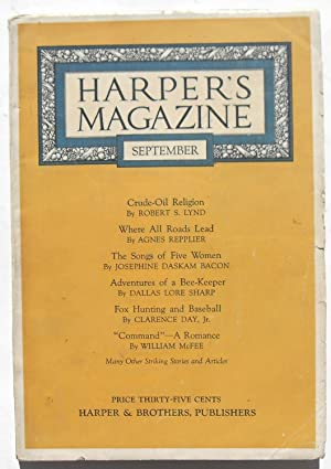 Harper's Magazine - September 1922 #868