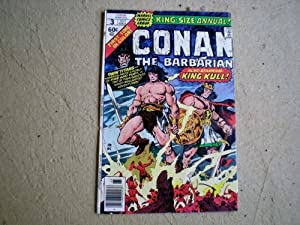 Marvel Comic Group's King Conan #5 & Conan The Barbrian King Size Annual #3