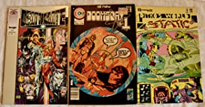 4 Assorted Comics; Valiant 's Deathmate, Doomsday + 1 By Charlton Comics, Ditko's World Static fr...