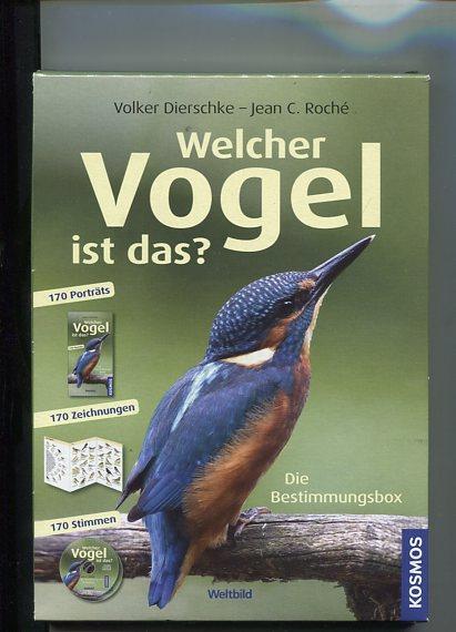 Die Bestimmungsbox - Welcher Vogel ist das ? - beiliegend 1 Faltplan und eine CD. Kosmos.: ...
