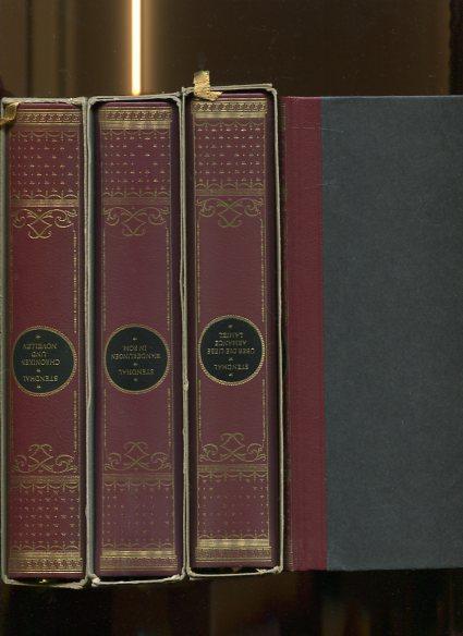 Werke - 8 Bände. Band 1. Rot und Schwarz, Band 2. Die Kartause von Parma, Band 3. Autobiographische Schriften, Band 4. Lucien Leuwe, Band 5. Wanderun