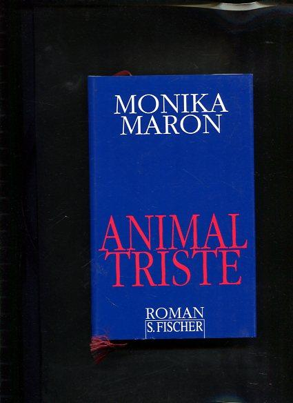 Animal triste: Maron, Monika: