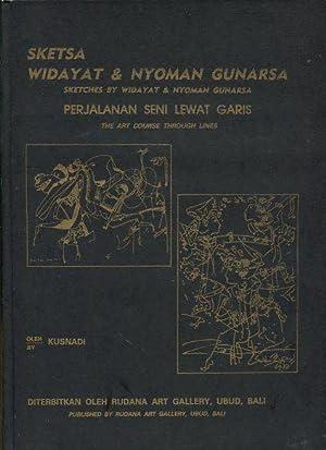 Sketsa Widayat & Nyoman Gunarsa. Sketches by: Kusnadi: