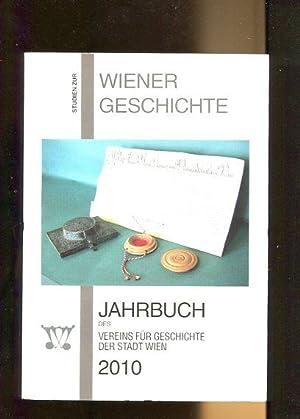 Jahrbuch des Vereins für Geschichte der Stadt: Fischer, Karl (Hrsg.):