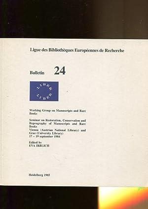 LIBER Ligue des Bibliotheques Europeennes de Recherche.: Irblich, Eva: