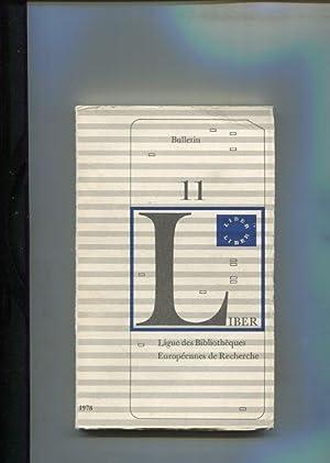 LIBER - Ligue des Bibliothèques Européennes de: LIBER: