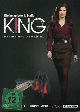 King - Die komplette 1. Staffel - 2 DVDs.: Amy, Price-Francis: