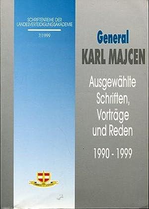 General Karl Majcen - Ausgewählte Schriften, Vorträge und Reden 1990-1999.: Majcen, Karl: