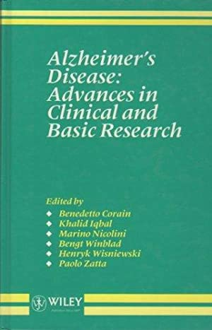 Alzheimer's Disease - Advances in Clinical and Basic Research. BEngt Winblad, Henryk ...