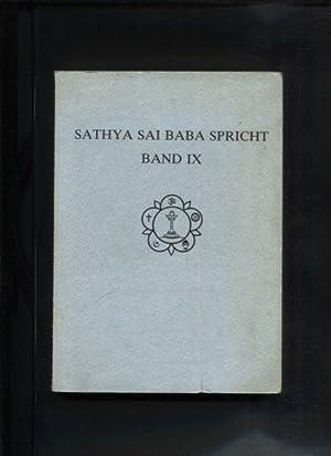 Sathya Sai Baba spricht. Band IX. Zusammengestellt: Sathya Sai Baba: