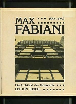 Max Fabiani - ein Architekt der Monarchie.: Pozzetto, Marco: