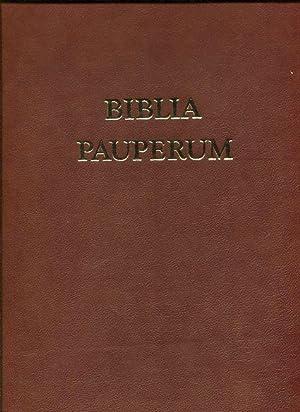 Biblia Pauperum Armenbibel Belser Kunstbuchedition berühmter Handschriften: Wetzel, Christoph (Kommentar),