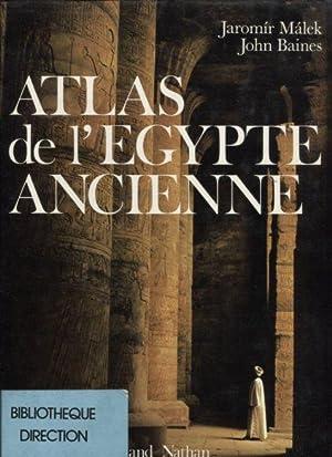 Atlas de l'egypte ancienne.: Malek, Jaromir und