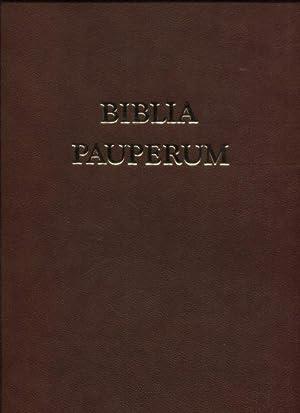 Biblia Pauperum Armenbibel - Die Bilderhandschrift des: Wetzel, Christoph (Kommentar),