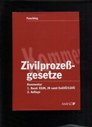 Kommentar zu den Zivilprozeßgesetzen Band 1: EGJN,: Fasching, Hans W.: