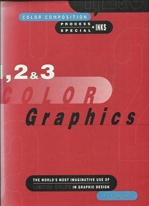 1, 2 & 3 Color Graphics. Color: Pie books as