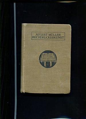 Lehrbuch der Buchdruckerkunst.: Müller, August: