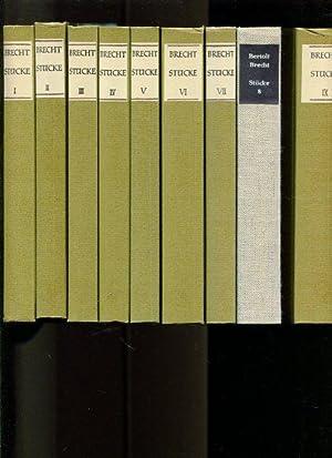Bertolt Brecht - Stücke - 14 Bände.: Brecht, Bertolt:
