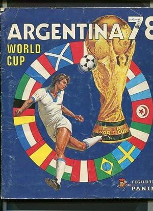 Panini Album WM 1978 Argentinien - Worldcup: Ohne Autorenangabe: