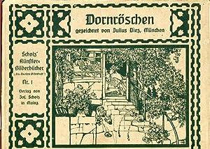 Dornröschen - Das Deutsche Bilderbuch Serie A: Gebrüder Grimm und