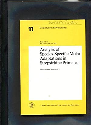 Analysis of species-specific molar adaptations in Strepsirhine primates. Contributions to ...