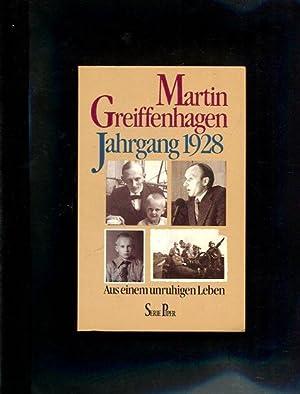 Jahrgang neunzehnhundertachtundzwanzig] Jahrgang 1928 : aus e. unruhigen Leben. Piper ; Bd. 887: ...
