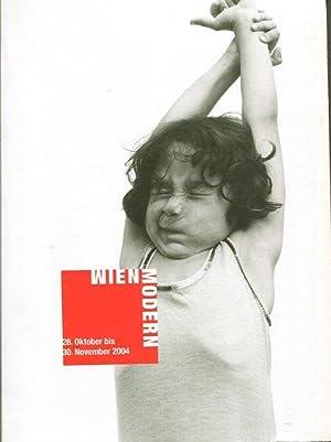 Wien Modern : 28. Oktober bis 30. November 2004, Wiener Konzerthaus - Musik der Gegenwart. Thomas ...