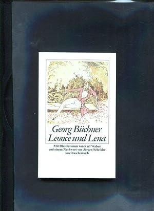 Leonce und Lena Ein Lustspiel Insel taschenbücher: Büchner, Georg: