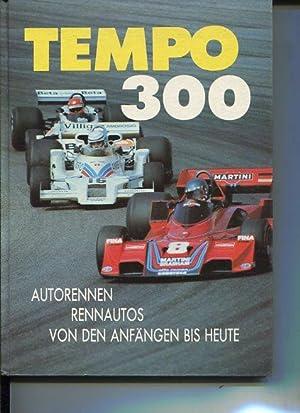 Tempo 300. Autorennen, Rennautos von den Anfängen: Temming, Rolf L.: