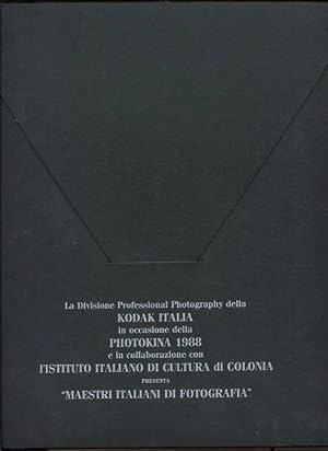 La Divisione Professional Photography della Kodak Italia: Scianna, Ferdinando, Franco