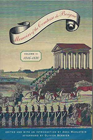 002: Memoirs of the Comtesse de Boigne: Muhlstein, Anka
