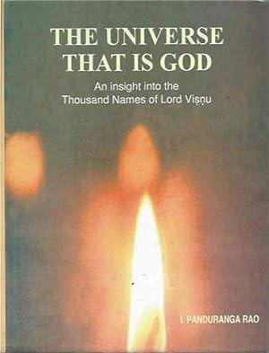 Universe That Is God: Rao, Panduranga; Rao,