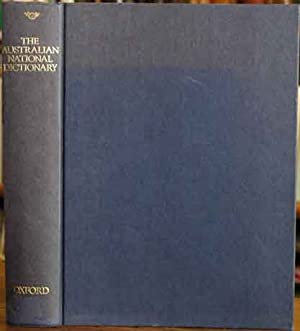 The Australian National Dictionary: A Dictionary of