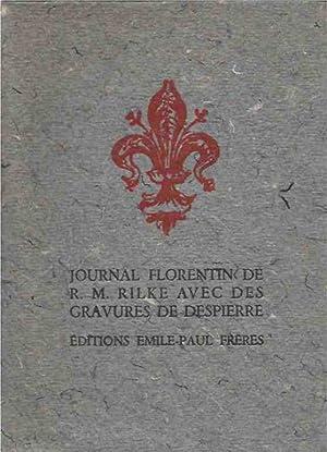 Journal Florentin de R.M. Rilke, Traduction de: Rilke, R.M.