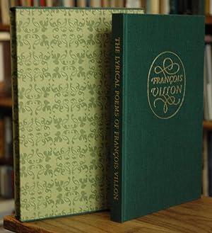 Lyrical Poems: Villon, Francois