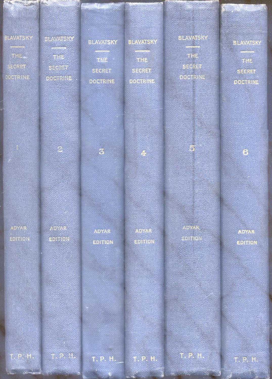 "THE SECRET DOCTRINE. The Syntesis of Science, Religion and Philosophy (""Vishishtadvaita"")..."