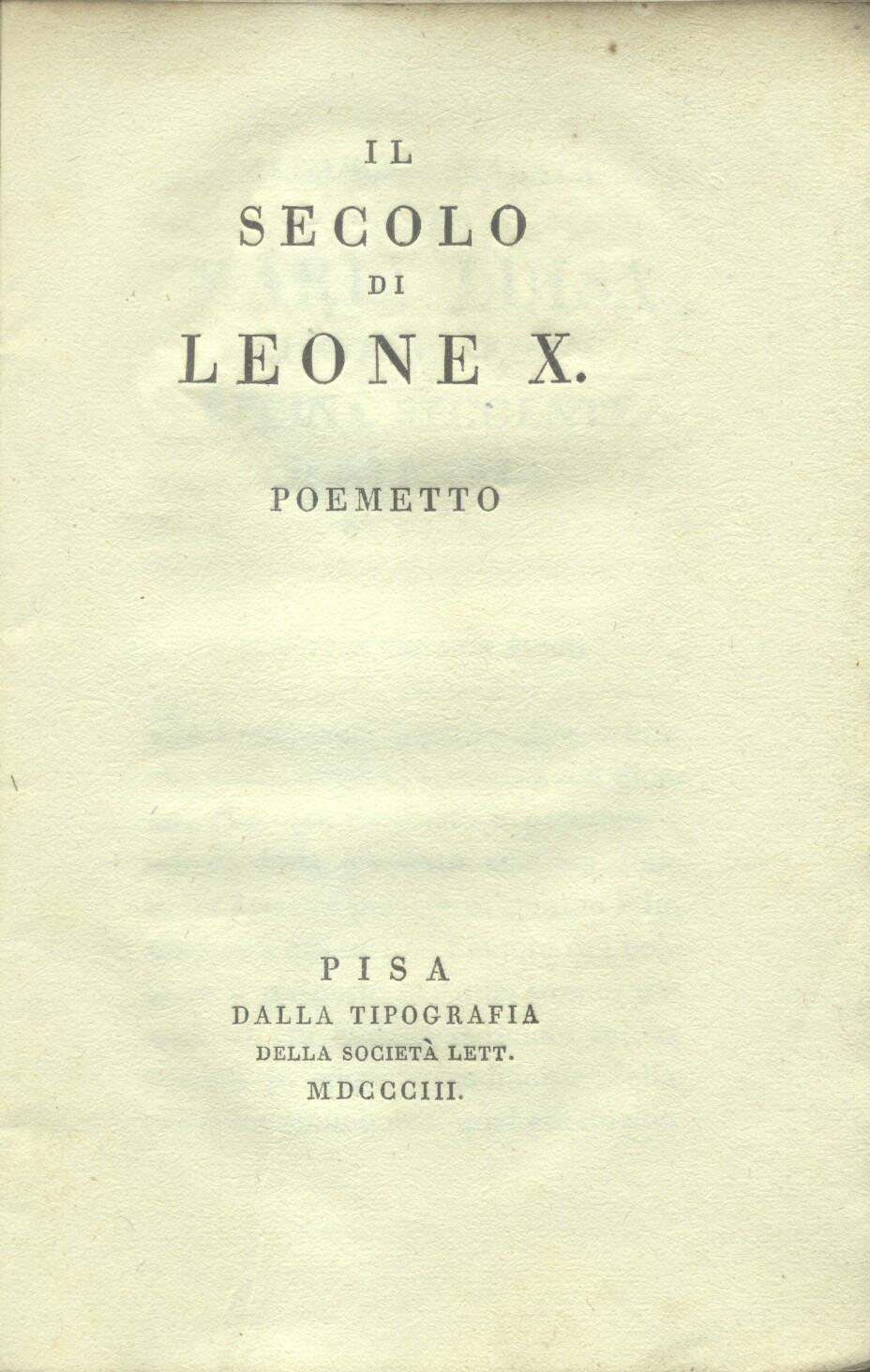 Giovanni Leone Erstausgabe Zvab