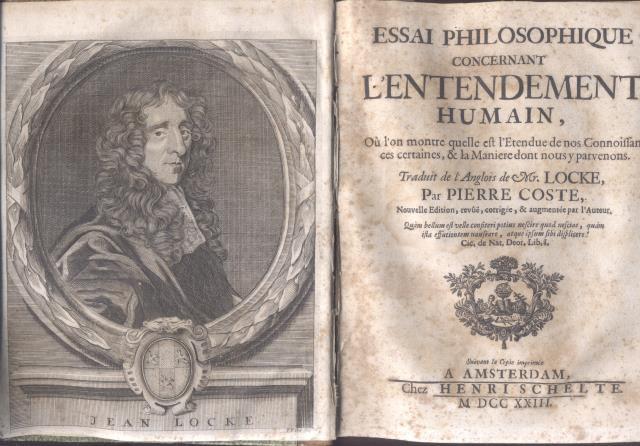 ESSAI PHILOSOPHIQUE CONCERNANT LENTENDEMENT HUMAIN Ou Lon LOCKE