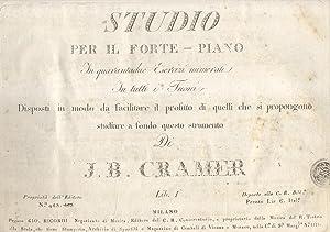 STUDIO PER IL FORTE - PIANO IN QUARANTADUE ESERCIZI NUMERATI IN TUTTI I TUONI. Disposti in modo da ...