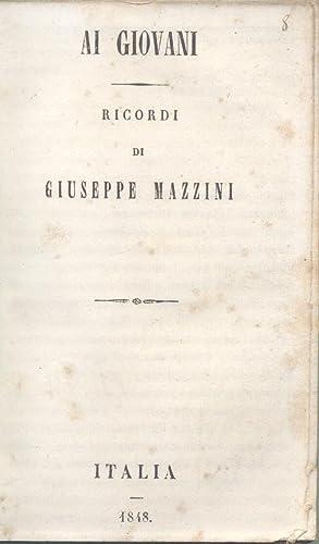 AI GIOVANI.: MAZZINI Giuseppe.