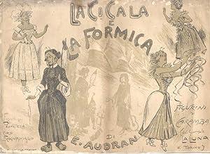 """LA CICALA E LA FORMICA"""" DI EDMOND AUDRAN. Pubblicazione propagandistica in occasione della ..."""