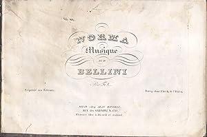 NORMA (1831). Opera completa. Riduzione per Pianoforte solo (Pl.n°6900-6904).: BELLINI Vincenzo...