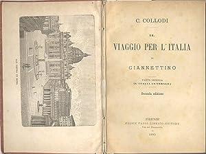 IL VIAGGIO PER L'ITALIA DI GIANNETTINO. Parte seconda: L'Italia centrale.: LORENZINI ...