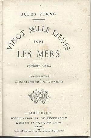 VINGT MILLE LIEUES SOUS LES MERS. fine: VERNE Jules.