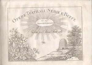 LA CENERENTOLA (1817). Melodramma giocoso in due atti di Jacopo Ferretti. Riduzione per Forte-Piano...