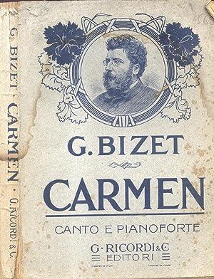 CARMEN (1875). Dramma lirico in quattro atti di Enrico Meilhac e Ludovico Halévy. Opera ...
