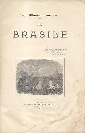AL BRASILE.: LOMONACO Alfonso.