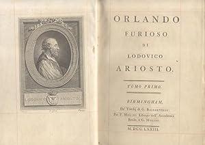 ORLANDO FURIOSO.: ARIOSTO Lodovico.